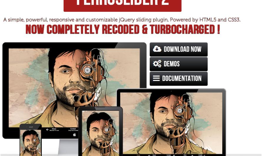 Ferroslider2 , un diaporama d'images HTML5 CSS3