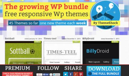 45 themes wordpress gratuits