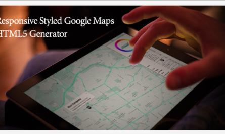Home Files HTML5Media Responsive Styled Google Maps Generator