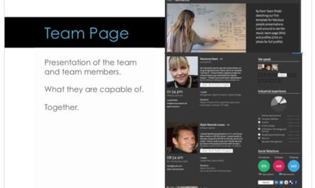 Company, Team and People presentation