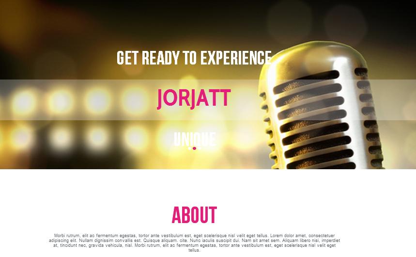 Jorjatt, le template gratuit du mois de novembre