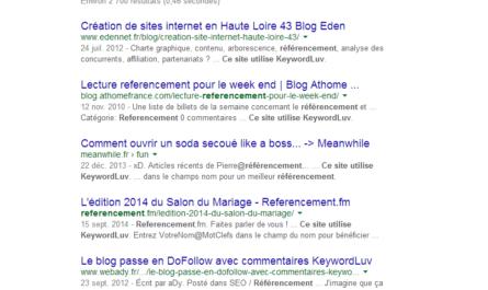 liste blog dofollow