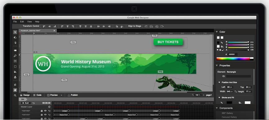 Comment créer une bannière HTML5 ?