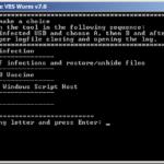 Remediate VBS malware