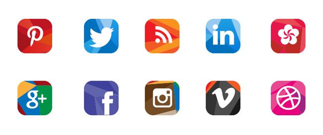 20 packs d'icônes pour vos réseaux sociaux