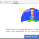 audit avec google chrome