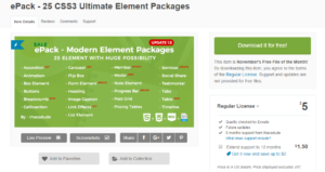 25 CSS3 ulimate Package