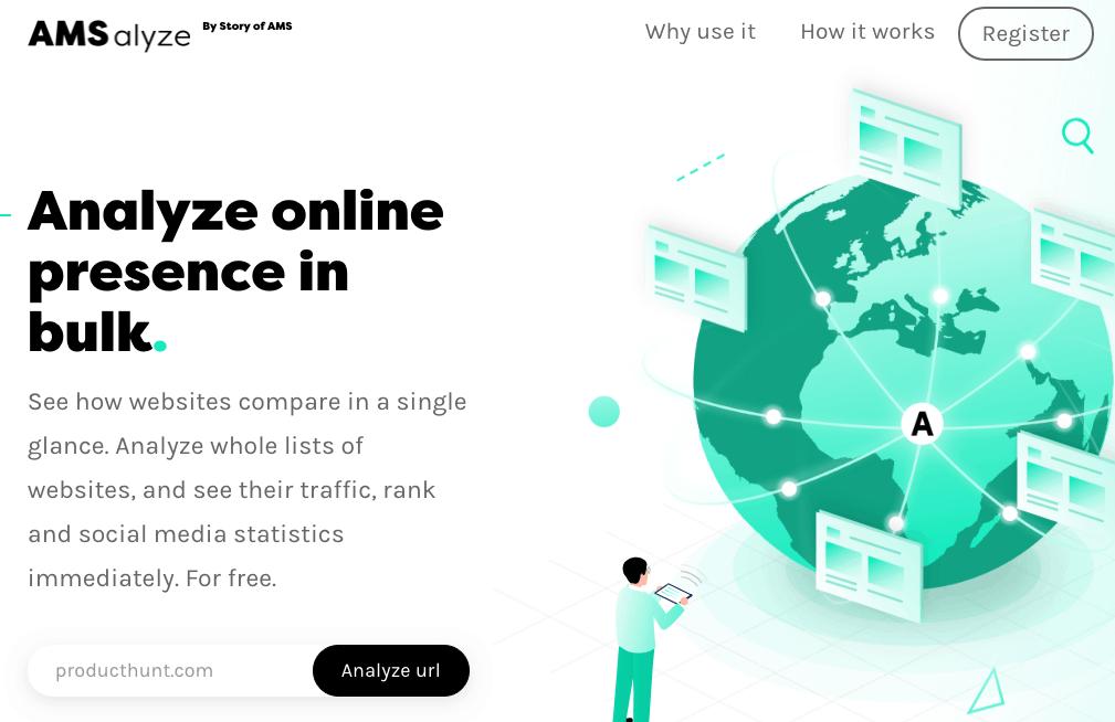 Comparer facilement le trafic de différents sites internet