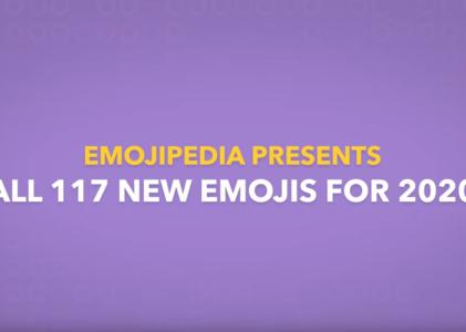 117 nouveaux emojis à découvrir en 2020