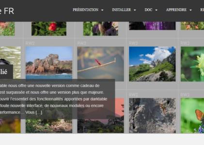 Une alternative gratuite à Adobe Lightoom : Darktable