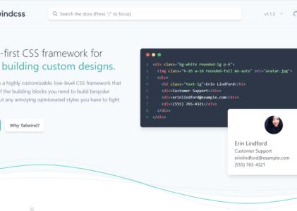 Tailwind CSS – le framework CSS qui va à l'essentiel