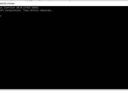 Programmer l'extension de votre PC en ligne de commande
