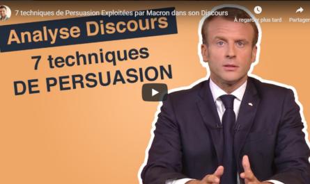 7 techniques de persuasion