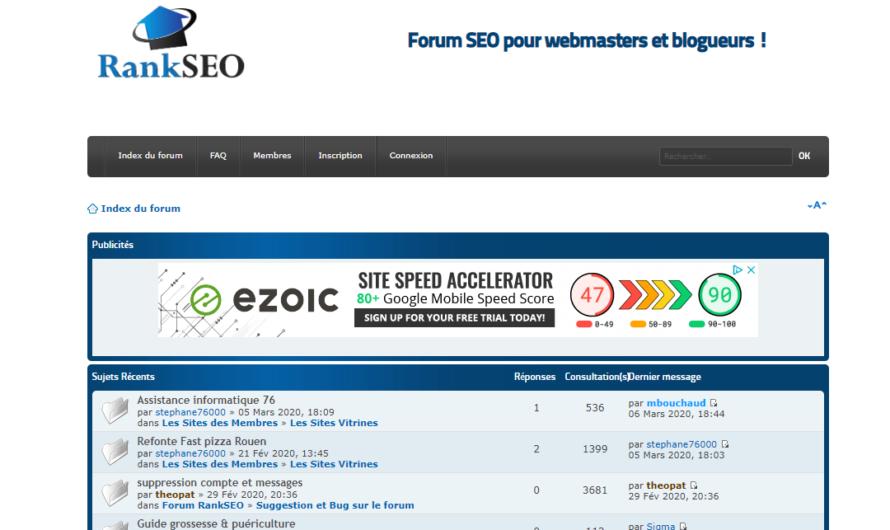 Les forums SEO français à suivre en 2020