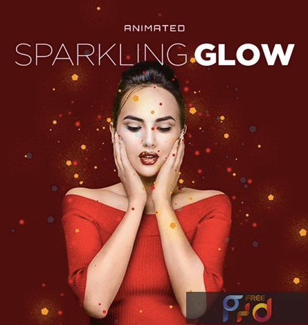 Sparkling Glow Animated Action