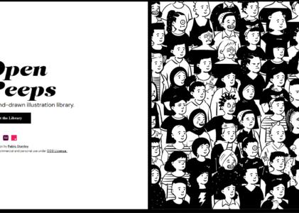 Open Peeps : des personnages pour vos graphismes !