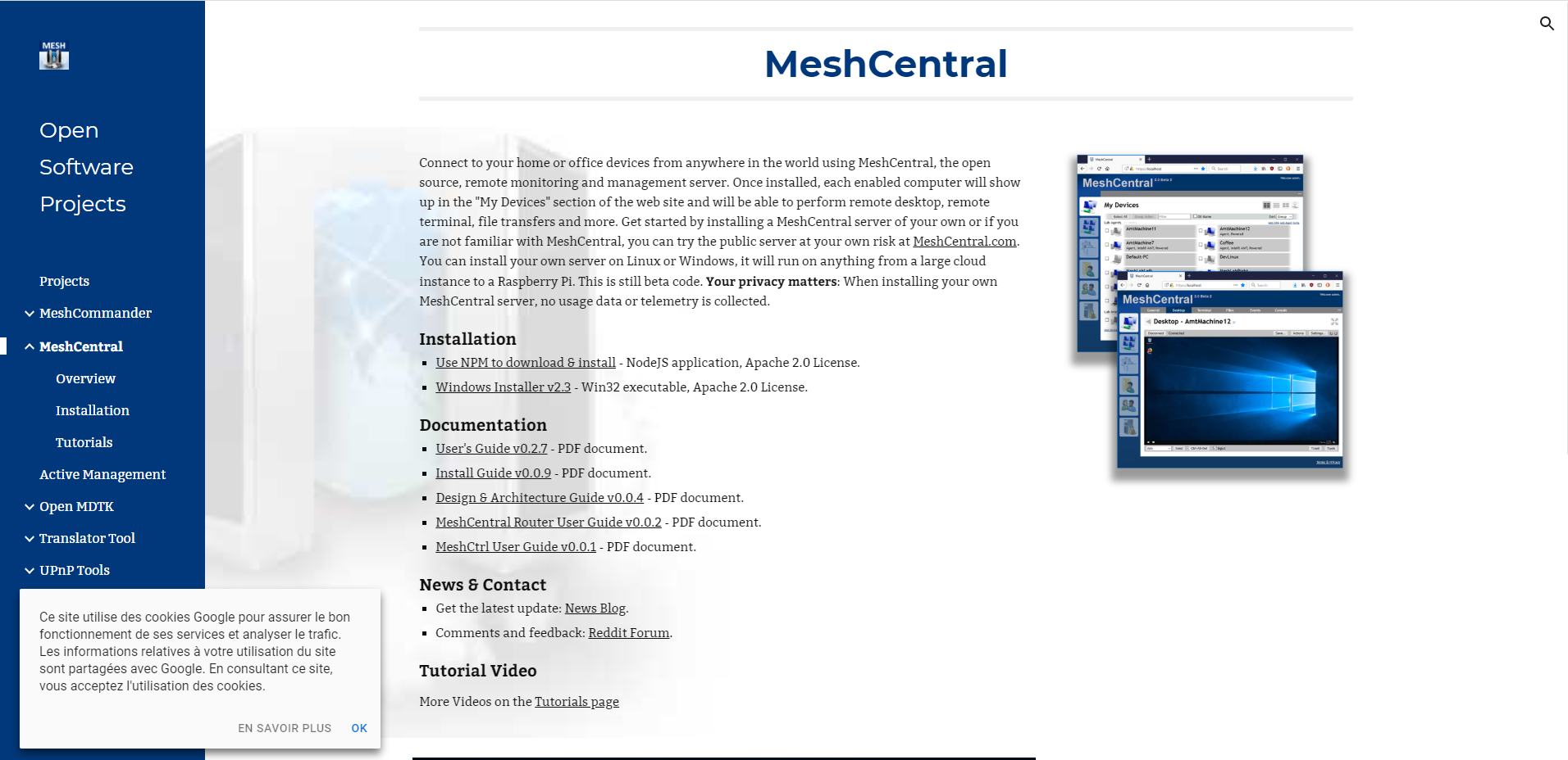 Mesh central