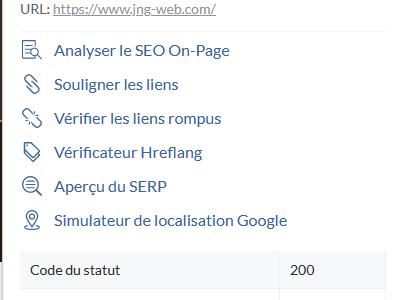 SEO Minion, une extension gratuite pour Firefox et Chrome