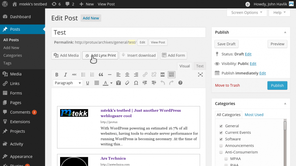 Styliser les liens de vos articles WordPress avec WP Lynx
