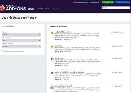 10 extensions incontournables pour Firefox
