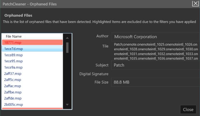 PatchCleaner : supprimer les fichiers inutiles de votre PC