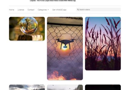 Loopvidz : des animations vidéos pour vos réseaux sociaux !