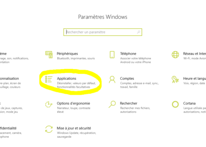 Comment réinitialiser simplement les applications par défaut dans Windows ?
