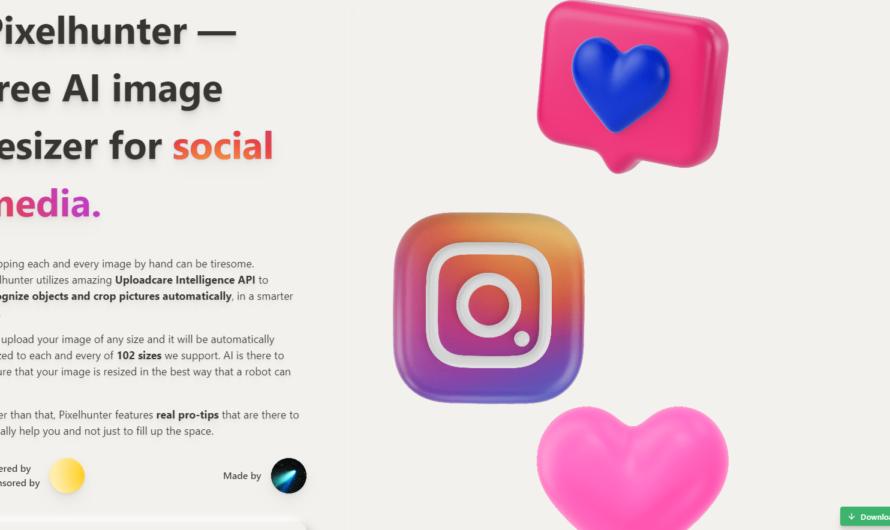 Redimensionner facilement vos images pour les réseaux sociaux !