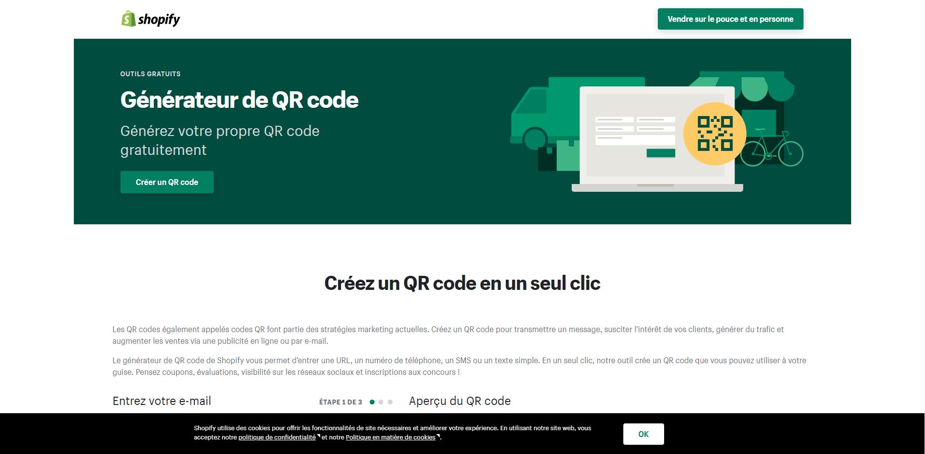 QR Code Shopify