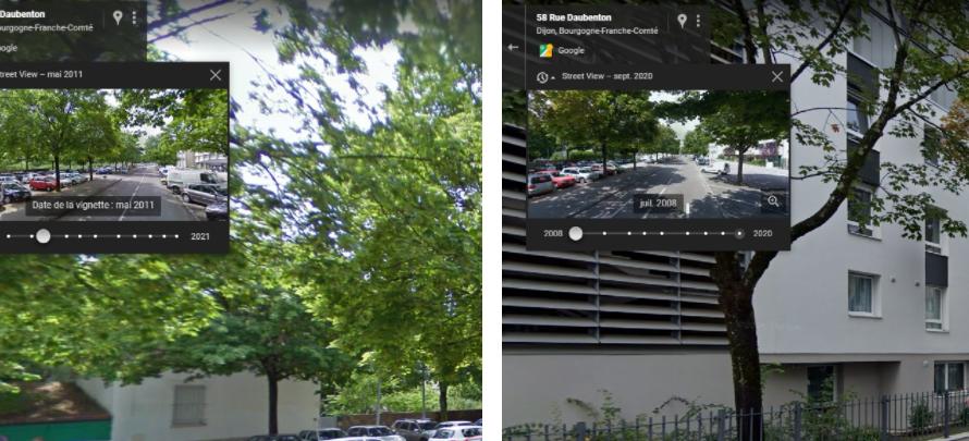 Découvrez l'évolution de votre ville avec Google Street View